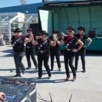 6 dansande damer