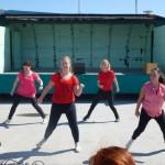 5 dansande tjejer