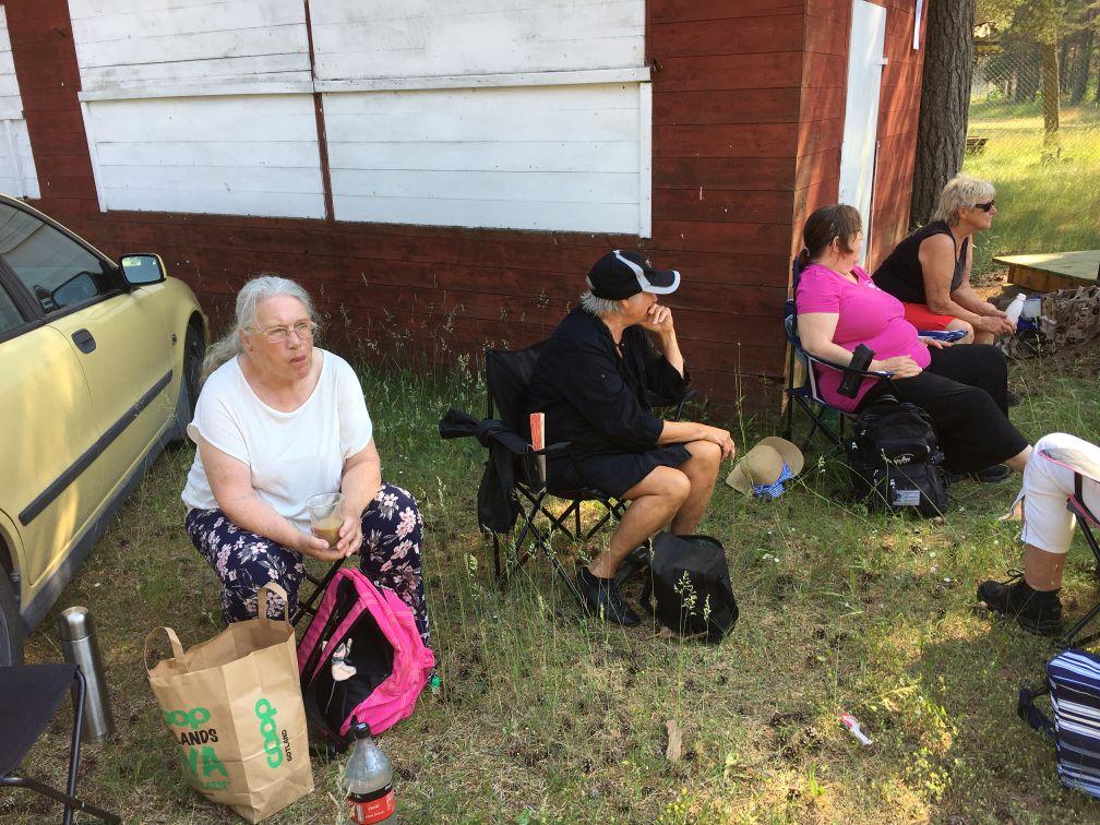 Fikadags: Eva, Beth, Maritha och Ulla